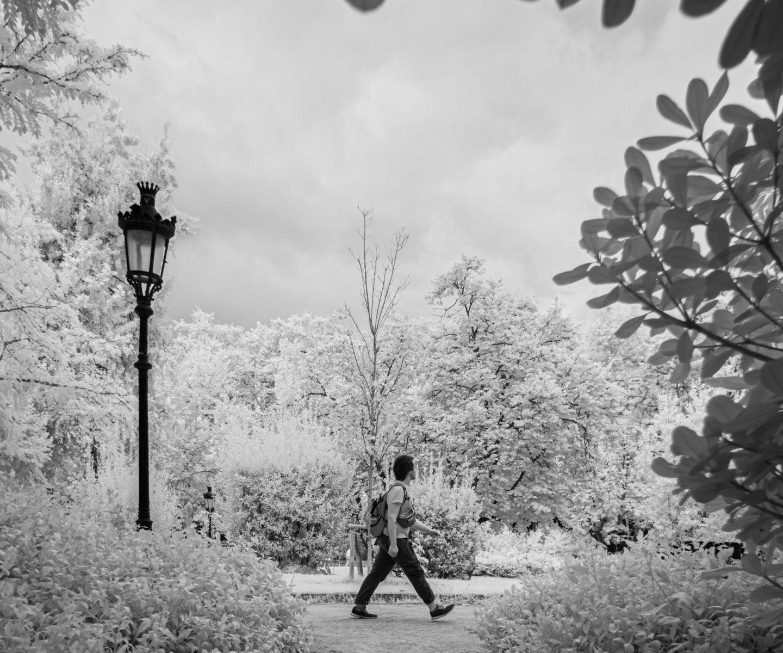 Barcelona im Park von Michael Henning Rost