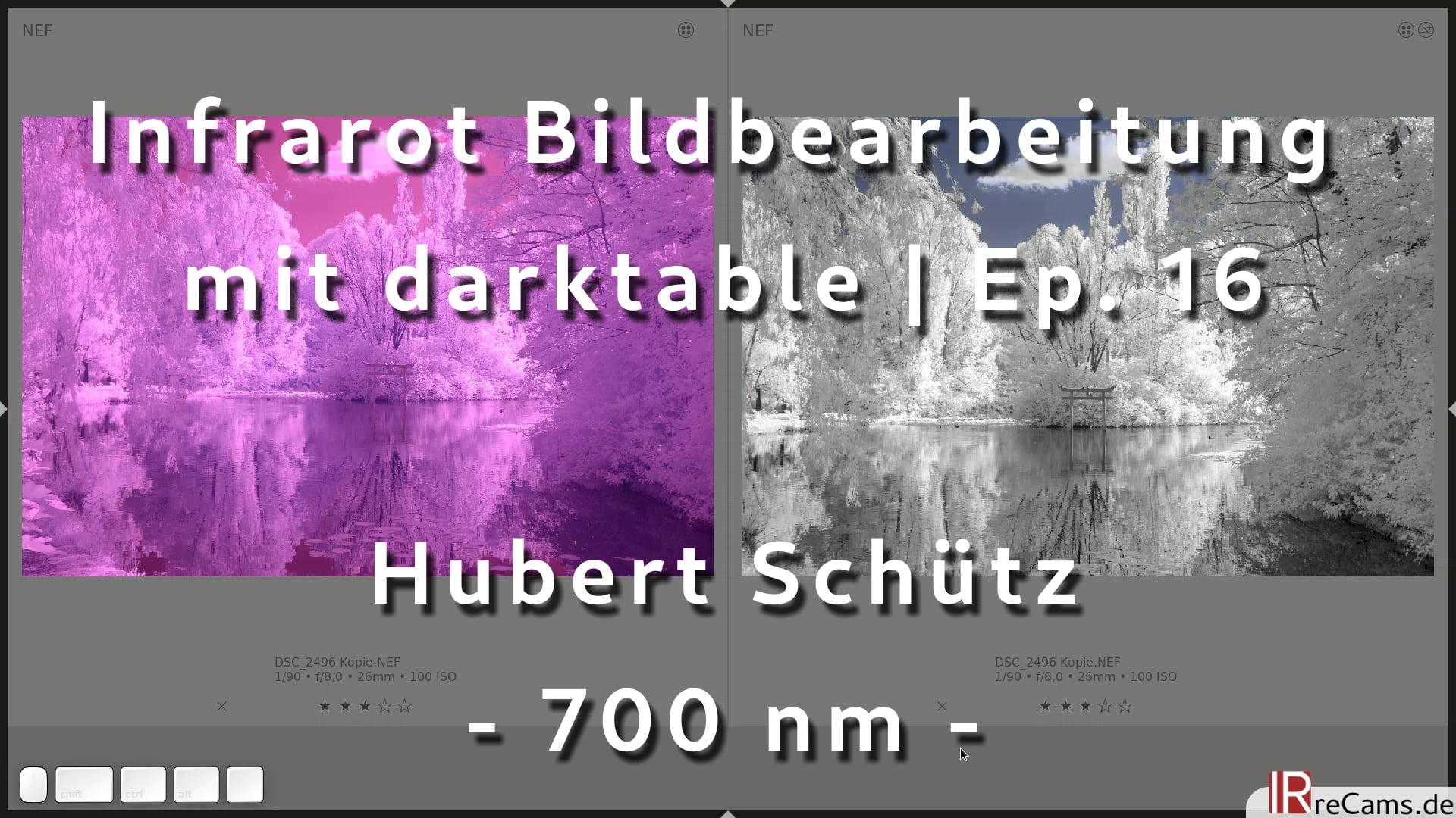 Infrarot Bildbearbeitung mit darktable 3.2 | Ep. 16