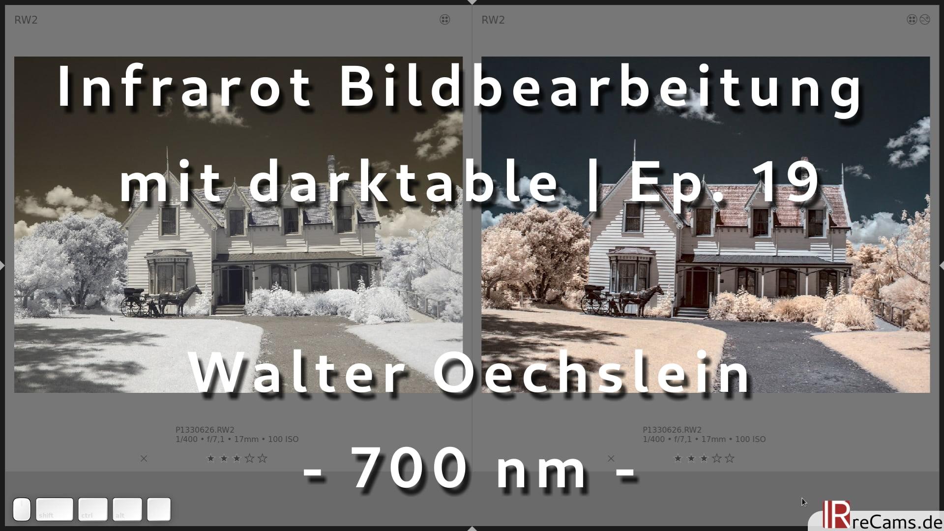 Infrarot Bildbearbeitung mit darktable | Ep. 19